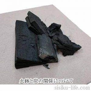 火鉢と炭について解説